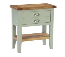 Vancouver French Grey 1 Drawer Console Table