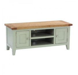 Vancouver French Grey 2 Door 1 Shelf TV Unit