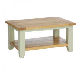 Vancouver French Grey Rectangular Coffee Table