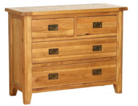 Vancouver Petite 4 Drawer Dresser Chest