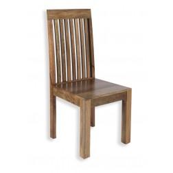 Cube Petite Mango Slatted Dining Chair