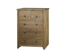Brazilian solid wood 3+2 Drawer Chest