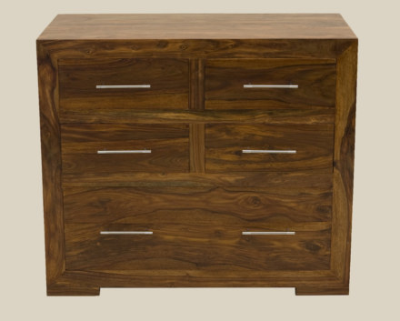 Cube Bedroom 4 over 1 Drawer Chest