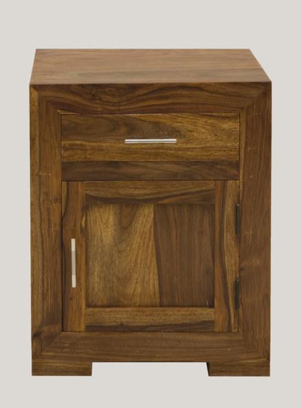 Cube Bedroom Bedside Cabinet