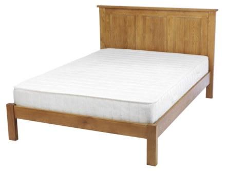 Dublin Solid Oak Solid Oak Bed