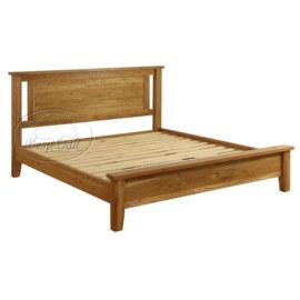 Vancouver Petite Solid Oak Low End Bed
