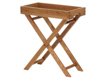 Vancouver Petite Large Butler Tray with Stand