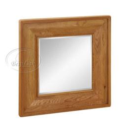Vancouver Premium Solid Oak Square Mirror