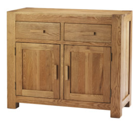 Mews Solid Oak 2 Door Sideboard