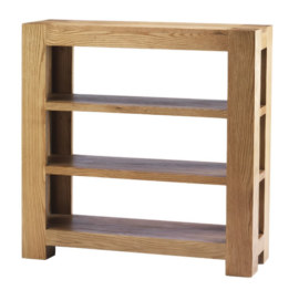 Mews Solid Oak Small Bookcase