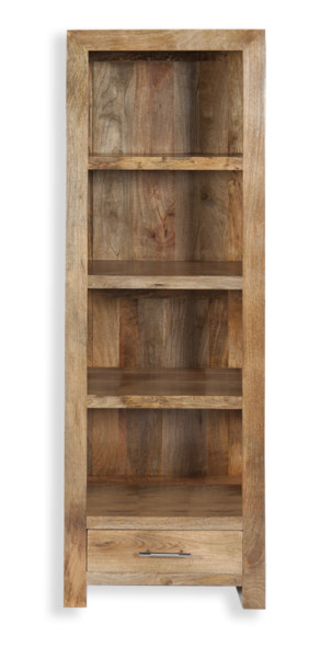 Cube Petite Mango Narrow Bookcase