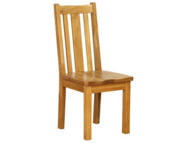 Vancouver Petite Oak Dining Chair with Oak Seat : Sherwood Oak Dining Chair with Oak Seat