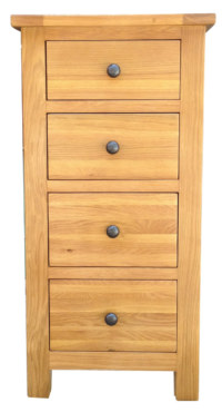 Dublin 4 Drawer Narrow Chest