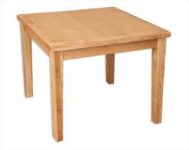 Melbourne Natural 90x90cm Dining Table