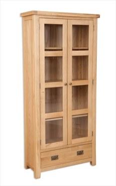 Melbourne Natural Glazed Cabinet