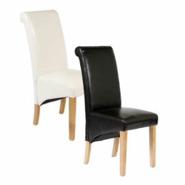 AOC Leather Dining Chair