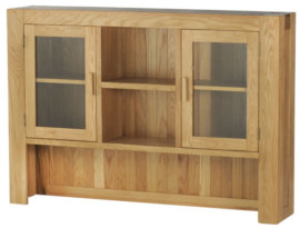Mews Solid Oak Large Hutch