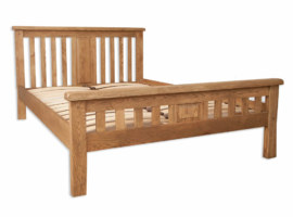 Melbourne Country Solid Oak Bed Bedframe