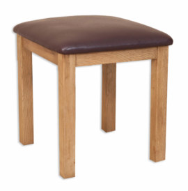 Melbourne Country Solid Oak Stool