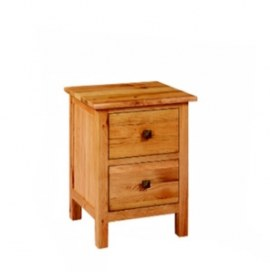 Paris Solid Oak Bedside Cabinet