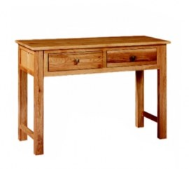 Paris Solid Oak Console Table