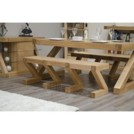 Z Oak Large Bench
