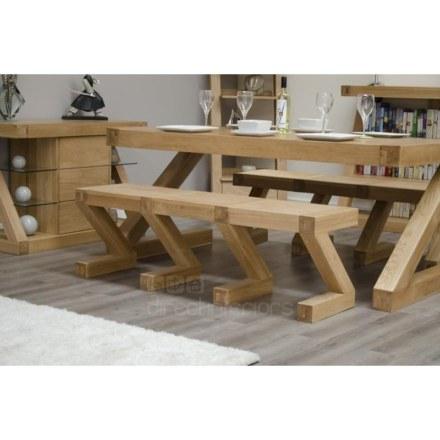Z Oak Large Bench