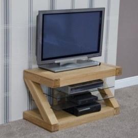 Z Oak TV Stand