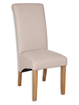 AOC Dining Fabric Chair – Natural