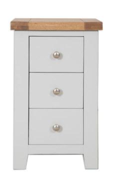 Melbourne French Grey Bedside Cabinet