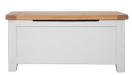 Melbourne French Grey Blanket Box