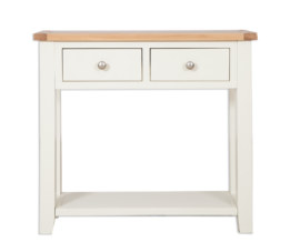 Melbourne Ivory 2 Drawer Console Table