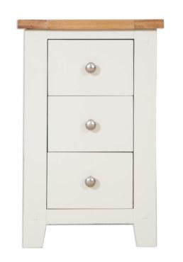 Melbourne Ivory Bedside Cabinet