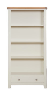 Melbourne Ivory Large Bookcase