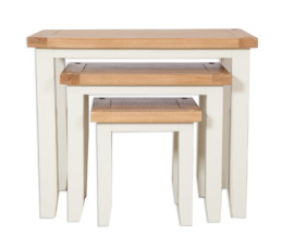 Melbourne Ivory Nest of Tables