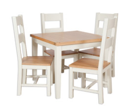 Melbourne Ivory Square Dining Table