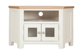 Melbourne Ivory Glazed TV Cabinet