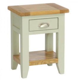 Vancouver French1 Drawer 1 Shelf Bedside Table
