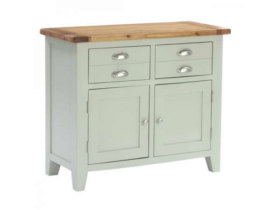Vancouver French Grey 2 Drawer 2 Door Buffet