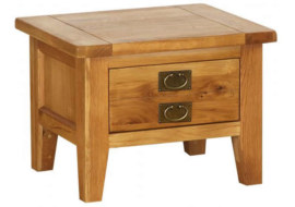 Vancouver Petite 2 Drawer Coffee Table