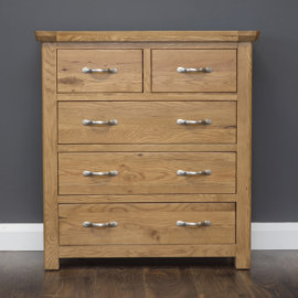 Manhattan 5 Drawer Tall Chest